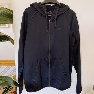 Nike dri-fit black hoodie